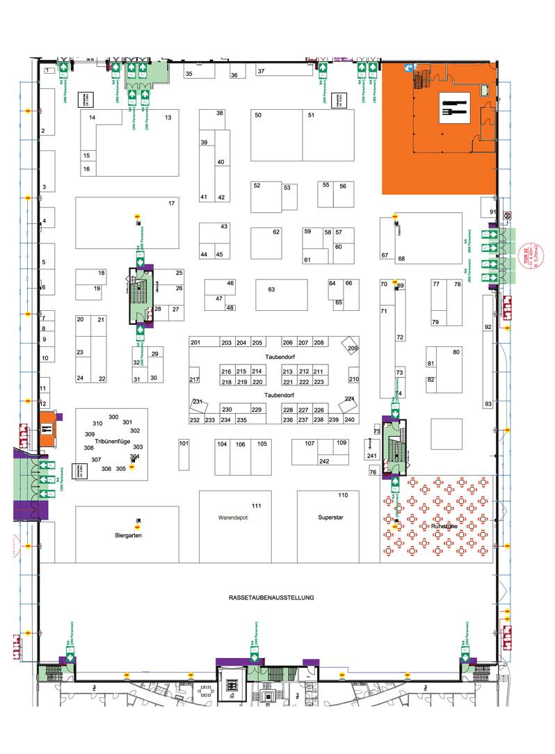Hallenplan Und Ausstellerverzeichnis Der Dba 2019 Verband